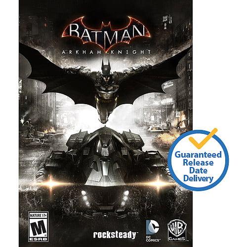 Batman Arkham Knight' Walmart pre order delivers prototype Batmobile