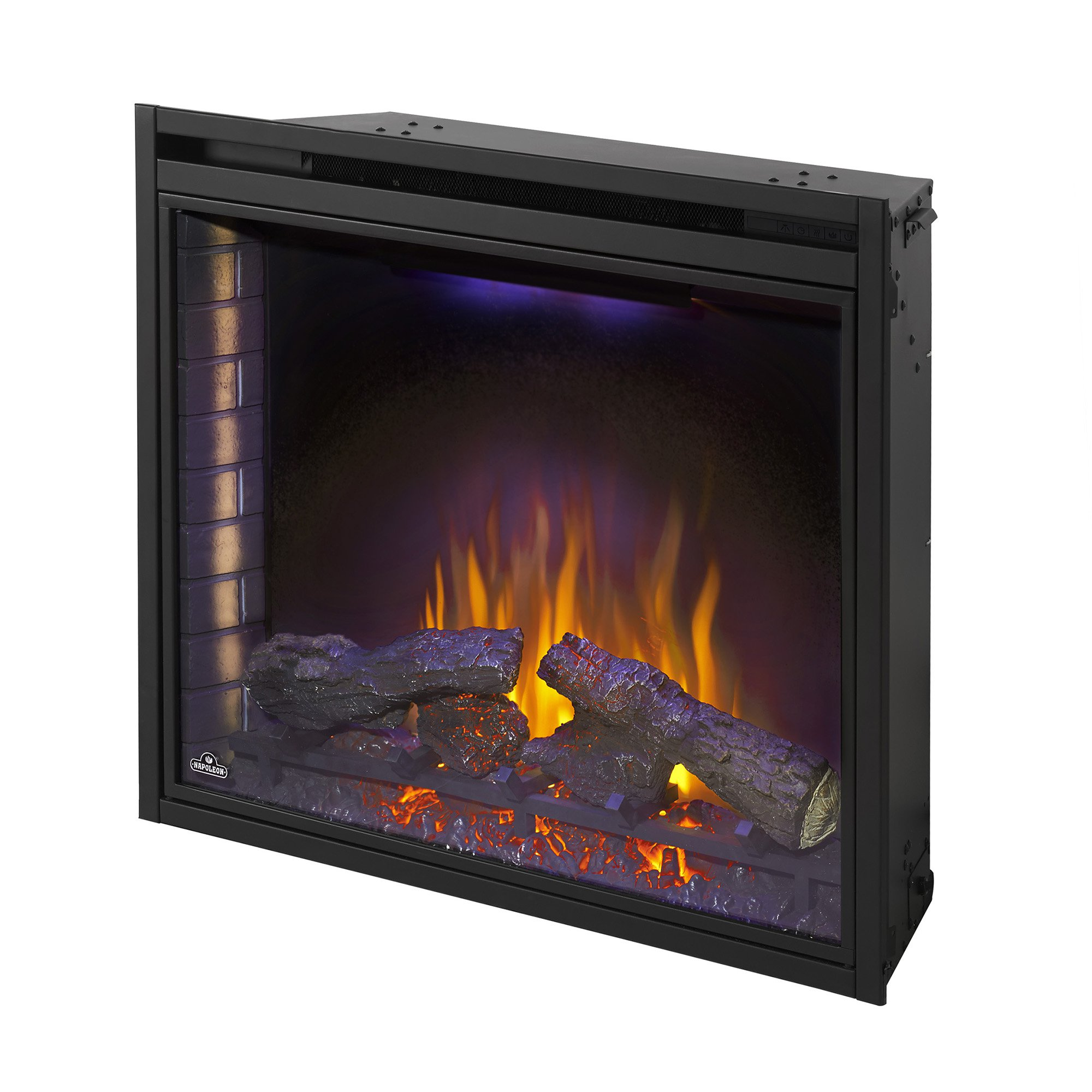 Napoleon Ascent 33 9000 BTU Home Living Room Built In Electric Fireplace Insert