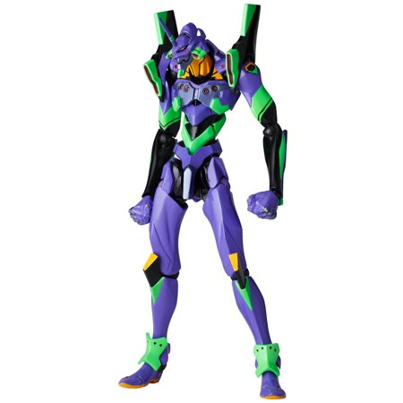 Revoltech Evangelion Evolution EV-001 Eva-01 Test Type Reissue Action Figure