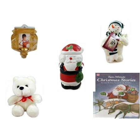 Christmas Fun Gift Bundle [5 Piece] - Hallmark Basketball Photo ...