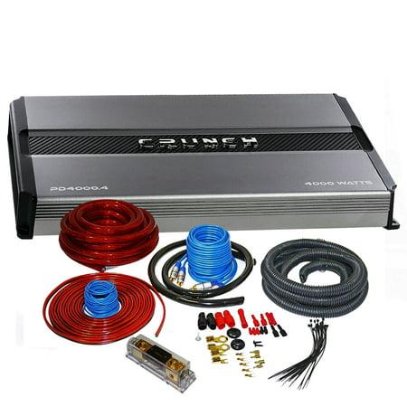 Crunch Pd 4000 4 4000w Max Drive Series 4 Channel Car Amplifier