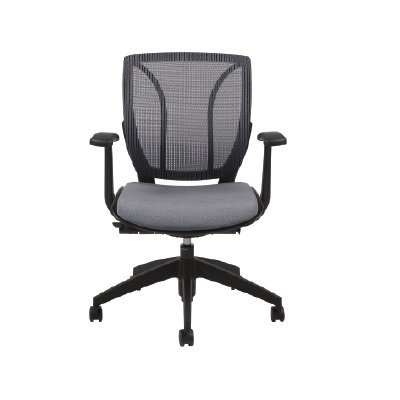 CHAIR-ROMA,POSTURE TASK MED.BK.GREY - image 1 of 1
