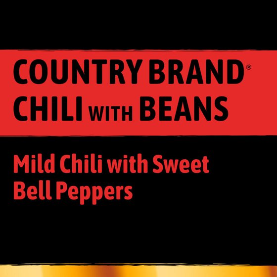68aa4882b Stagg Country Brand Chili with Beans, 15 Ounce - Walmart.com
