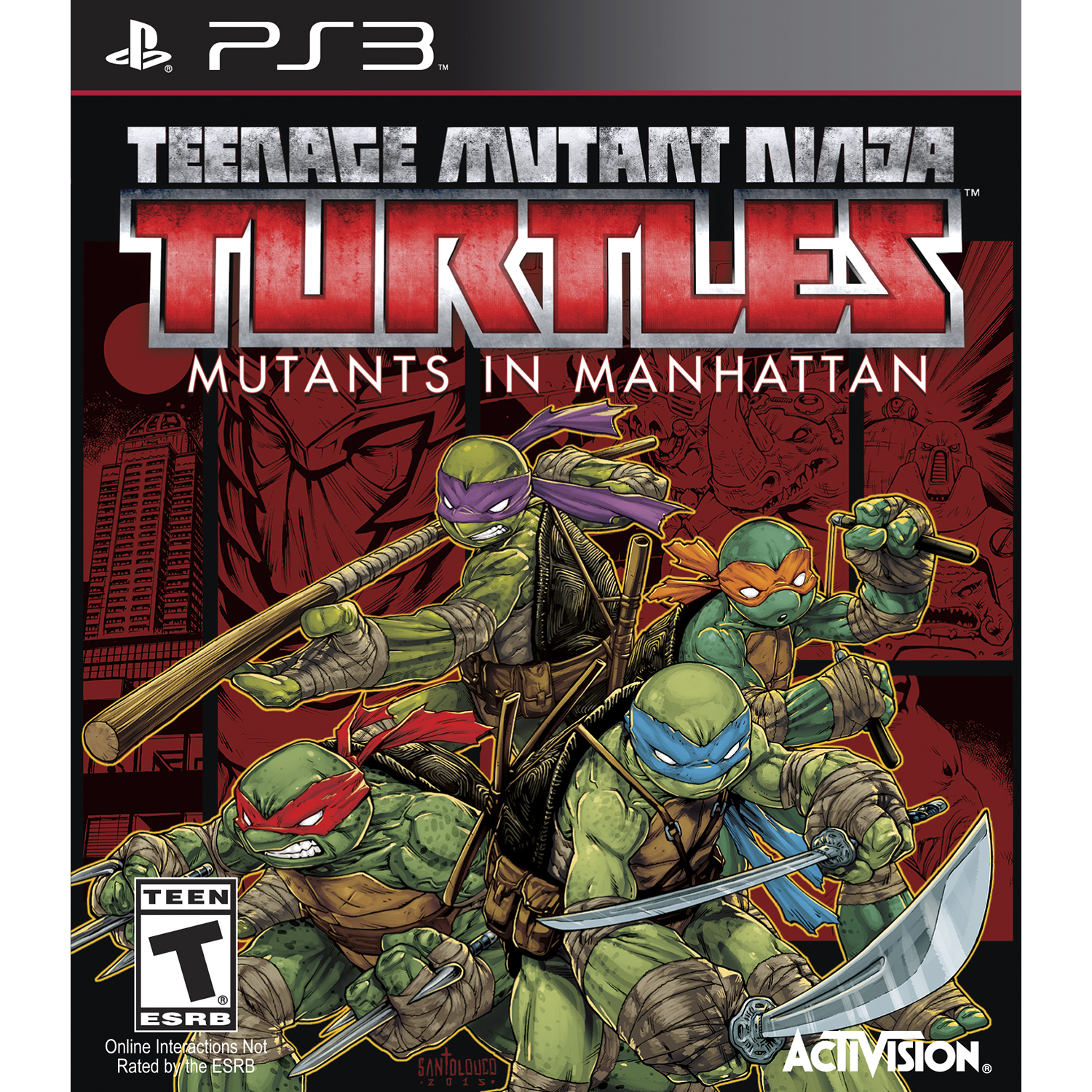 Teenage Mutant Ninja Turtles: Mutants Take Manhattan - Pre-Owned (PS3)