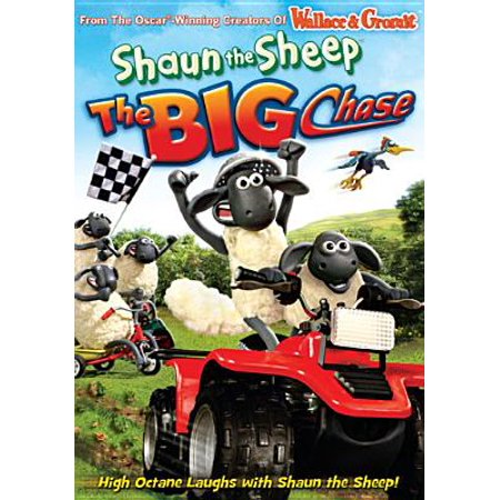 Shaun the Sheep: The Big Chase DVD (2011) John Sparkes; Justin Fletcher; Ri...