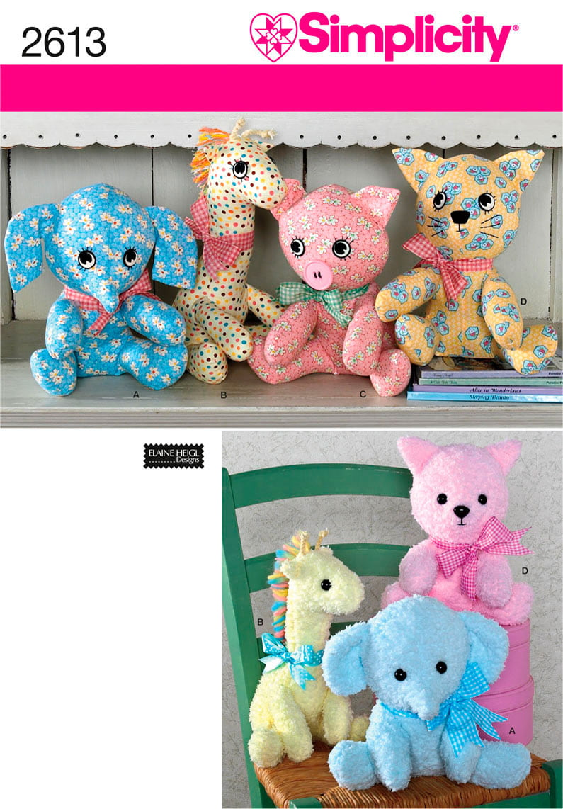 Stuffed Animal Patterns Simplicity Simple Decoration