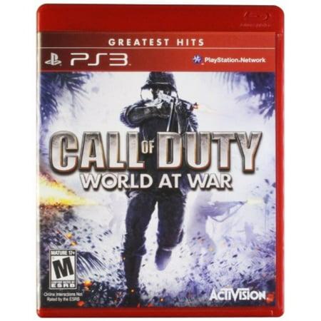 call of duty: world at war greatest hits - playstation