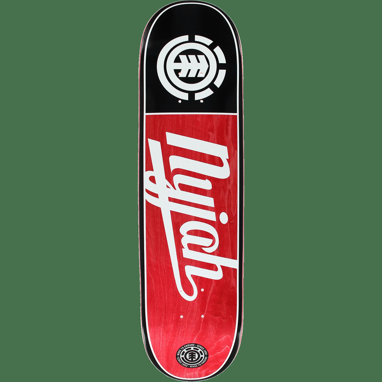 Element El Nyjah 25yr Script Skateboard Deck -8.0 DECK ONLY
