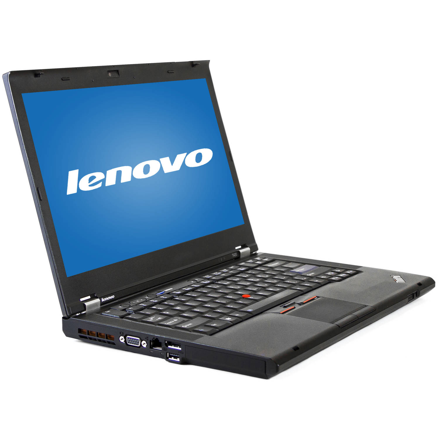 "Refurbished Lenovo Black 14"" Thinkpad T420 Laptop PC with Intel Core i5-2520M Processor, 8GB Memory, 128GB SSD and Windows 7 Professional"