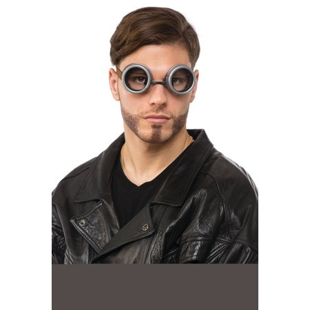 Silver Steampunk Goggles](Steampunk For Men)