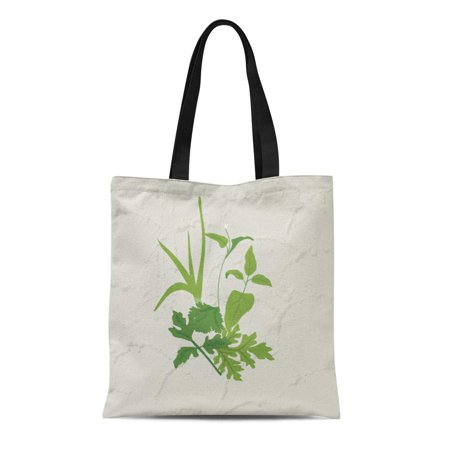 NUDECOR Canvas Tote Bag Food Herbs Spice Reusable Handbag Shoulder Grocery Shopping Bags - image 1 of 1