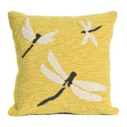 Liora Manne Frontporch Dragonfly Indoor/Outdoor Pillow