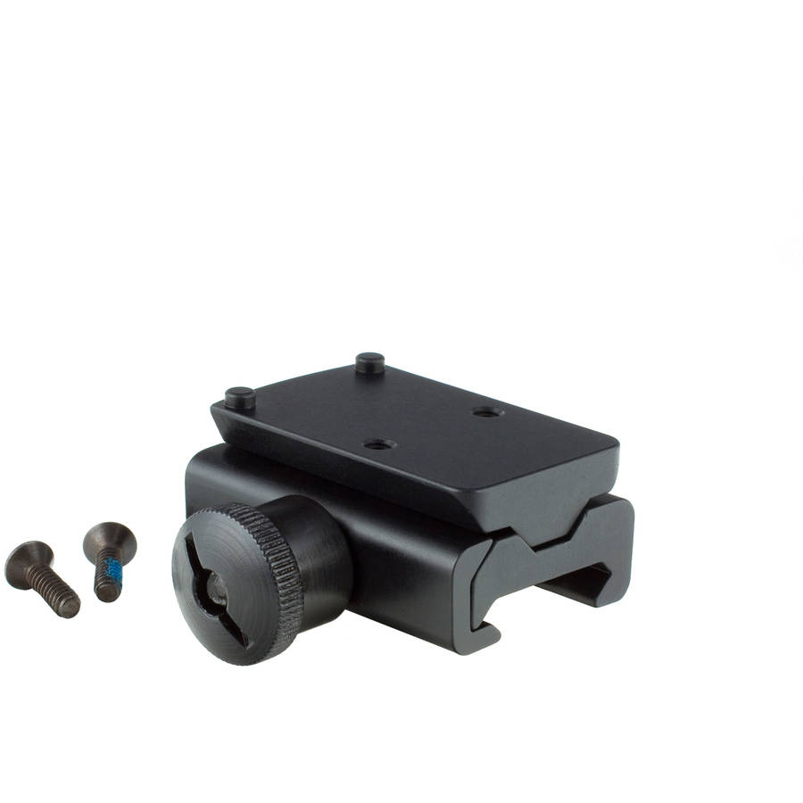 Trijicon Ruggedized Miniature Reflex Mount, Low, Fits Weaver Rail, Matte by Trijicon