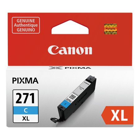 Canon 0337C001 (CLI-271XL) High-Yield Ink, Cyan