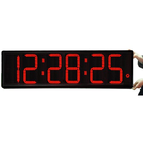 Big Time Clocks Long Distance 9'' Digit LED with Remote Control Countdown Clock