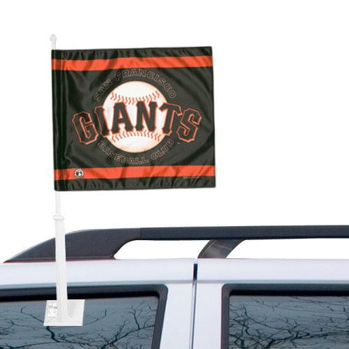 San Francisco Giants Double-Sided Car Flag - No Size