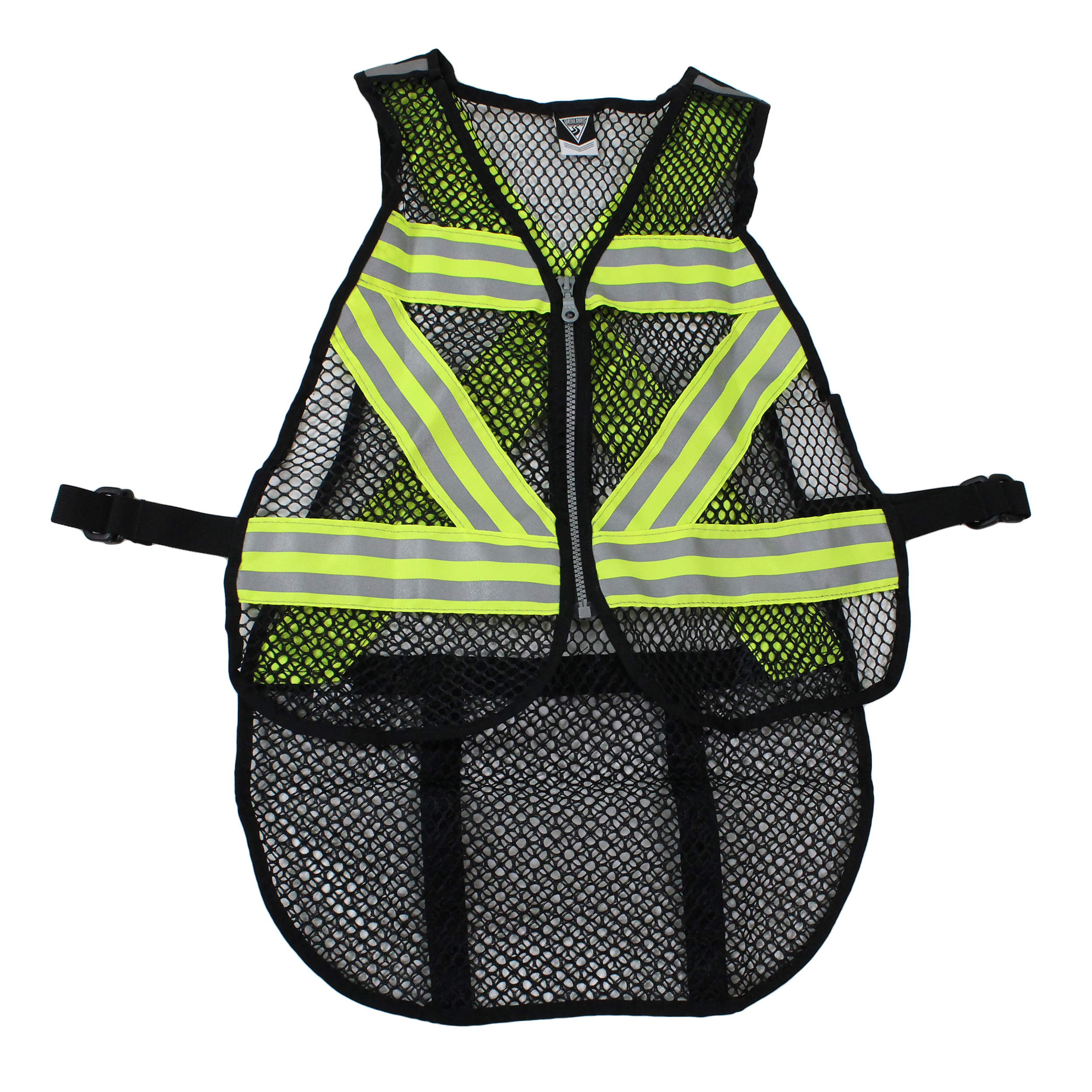 Seattle Sports Cycling Safety Vest Green White by Seattle Sports