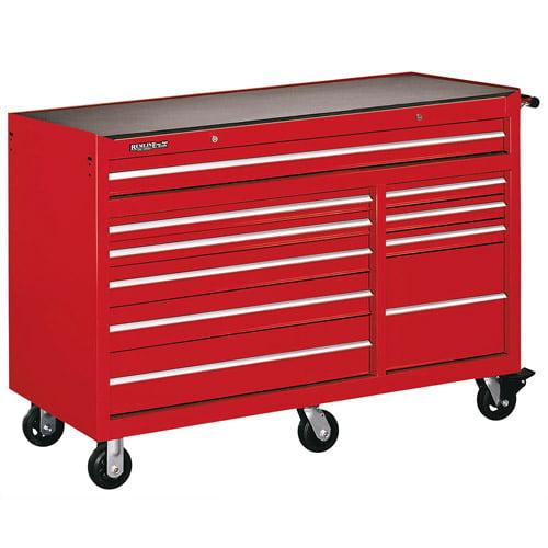 "Remline Professional 10-Drawer 56"" Heavy Duty Roller Cabinet"