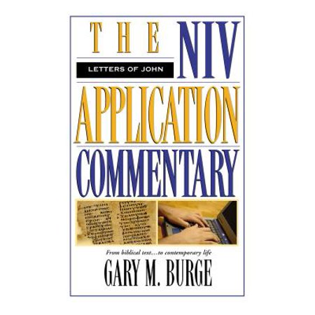 NIV Application Commentary: The Letters of John - Halloween 4 Commentary