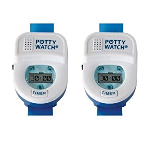Potty Watch Potty Training Timer, 2 Pack - Blue