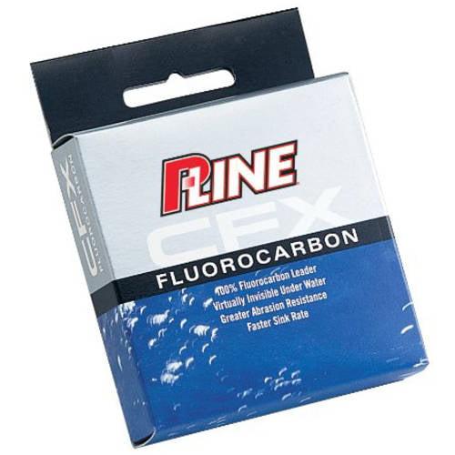 P-Line CFX Fluorocarbon Leader, 6 lb