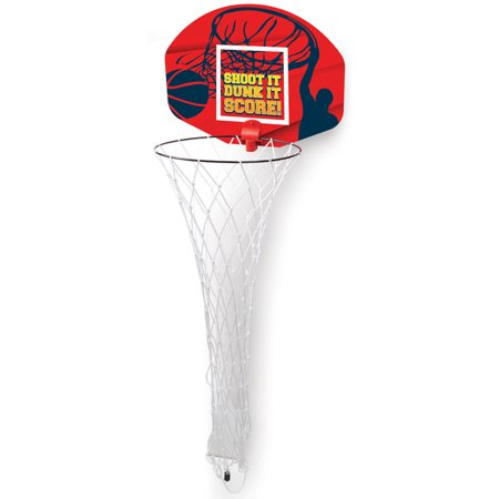 Ideas In Life Basketball Laundry Hoop Hamper Clothes Basket and Hoop 2-in-1 Over the - Halloween Ideas Using Normal Clothes
