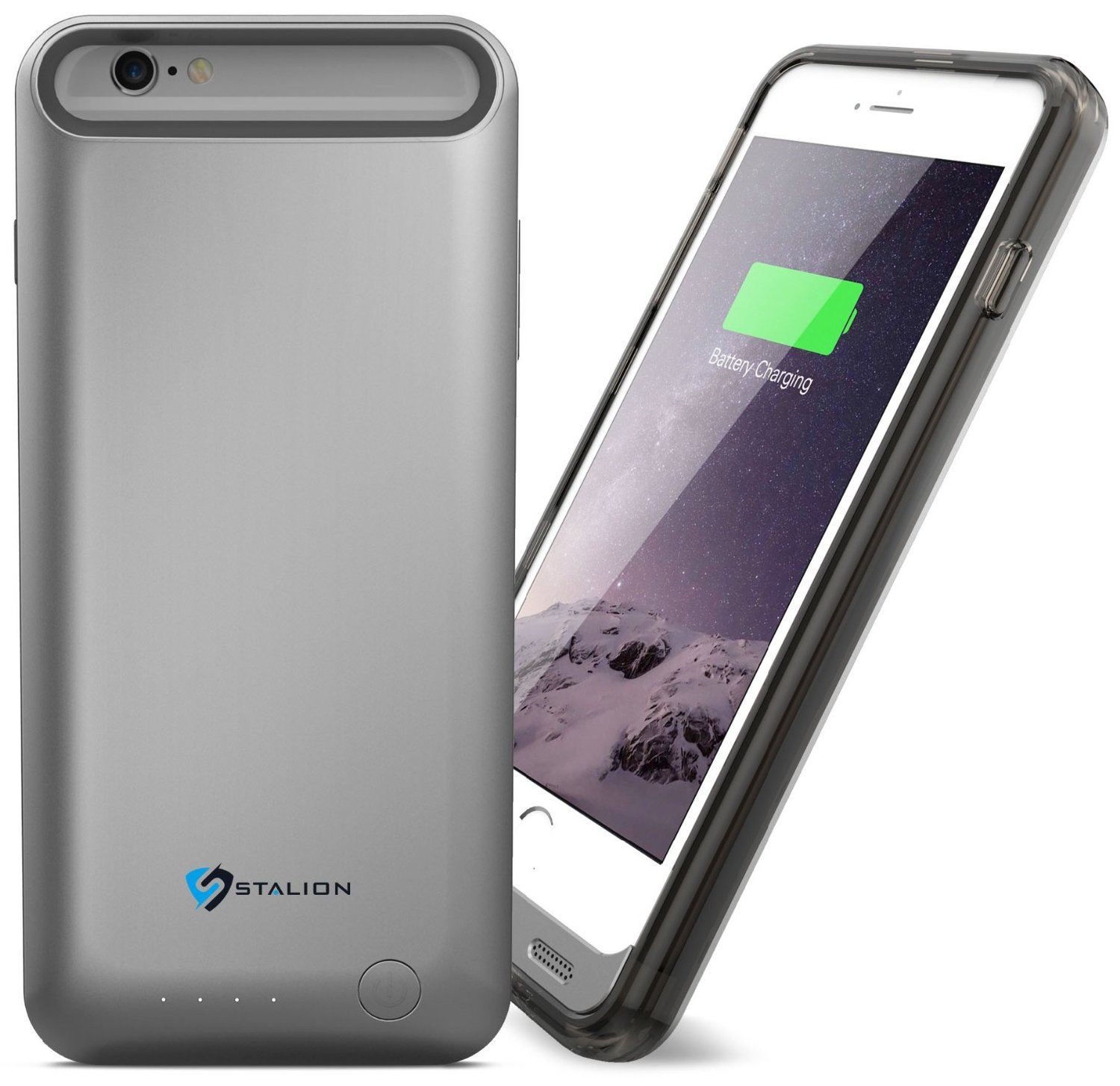 "iPhone 6 Battery Case: Stalion® Stamina 3100mAh Rechargeable Power Bank Case (Apple MFi Certified) for Apple iPhone 6 & iPhone 6s (4.7"")"