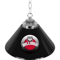 "University of Georgia 14"" Single Shade Bar Lamp, Honeycomb"