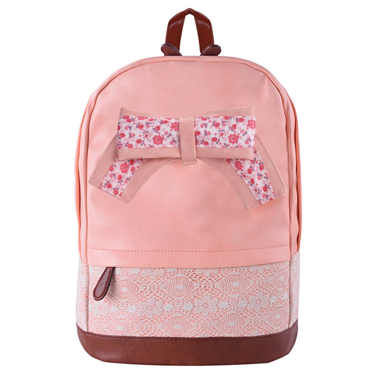 coofit backpack vintage rucksack canvas schoolbags
