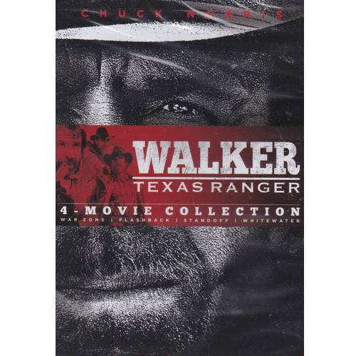 Walker Texas Ranger 4-Movie Collection: War Zone / Flashback / Standoff / Whitewater