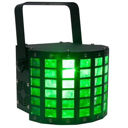 American DJ Mini Dekker DMX RGBW LED Strobe Kinta Derby Moonflower Light