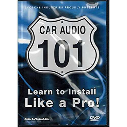 Scosche DVD101 Car Audio Installation DVD