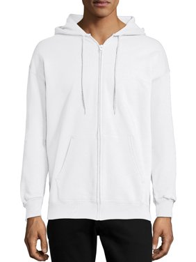 Hanes Men's and Big Men's Ultimate Cotton Heavyweight Fleece Full Zip Hood, up to Size 3XL