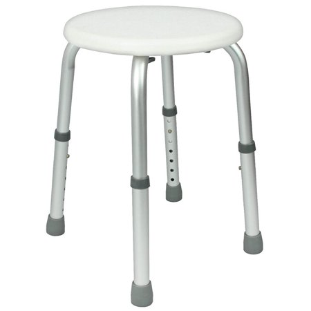 Shower Stool Adjustable Bath Seat Lightweight Portable Chair For El