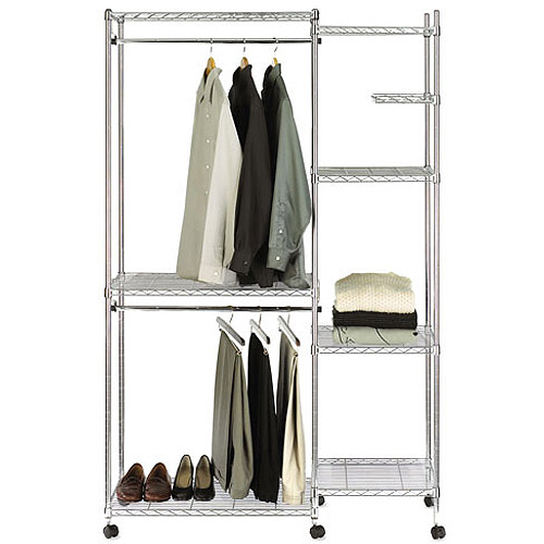 Seville Classics Closet Room Organizer With Cover SHE16181ZB