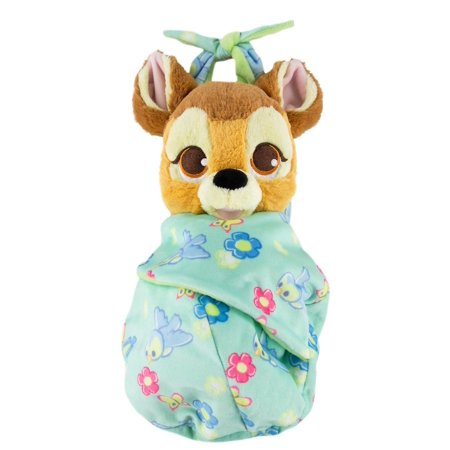 Disney Parks Baby Bambi in a Blanket Pouch Plush New with Tags](Bambi Ears)