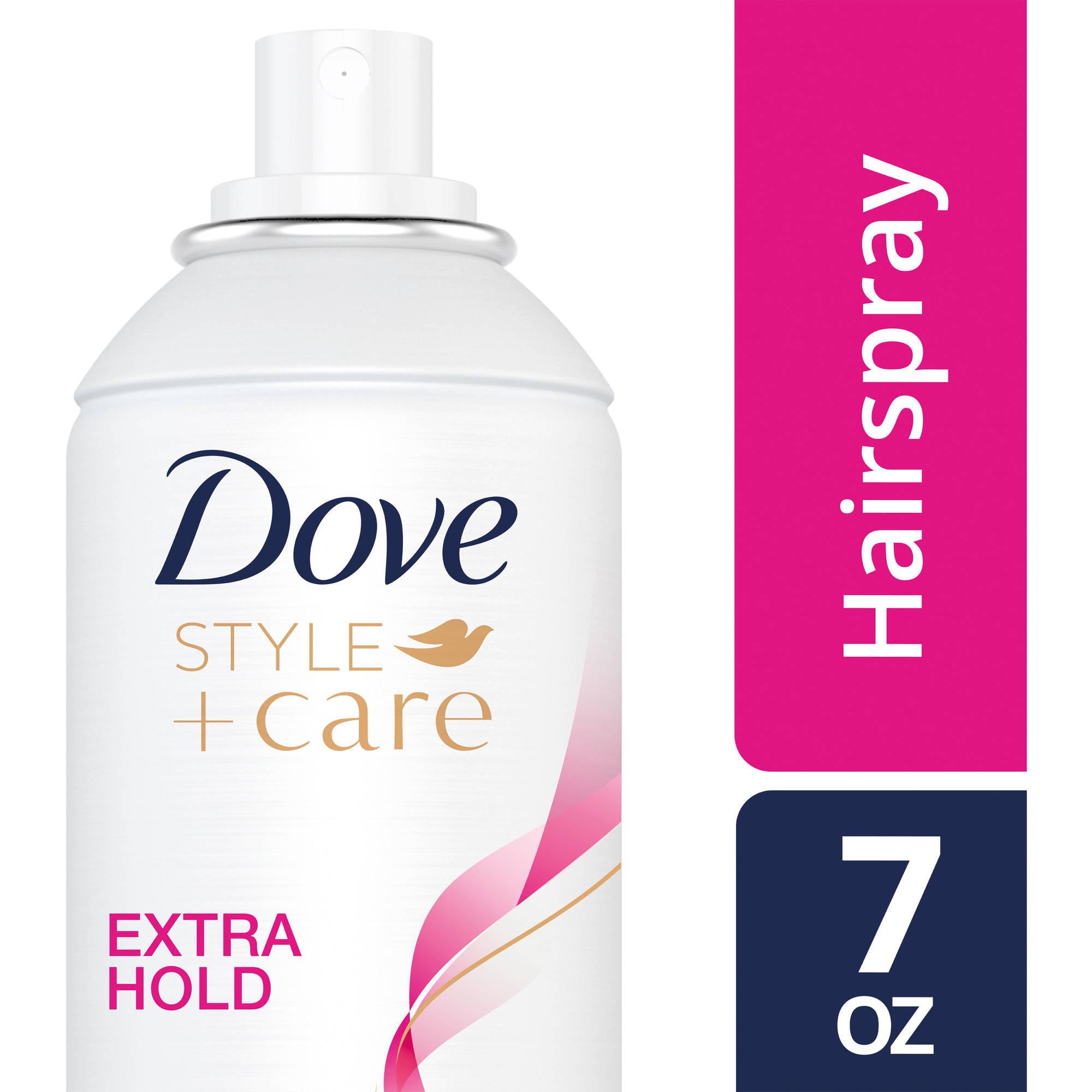 Dove Strength and Shine Extra Hold Hairspray, 7 oz