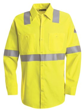 Bulwark FR Hi-Visibility Work Shirt