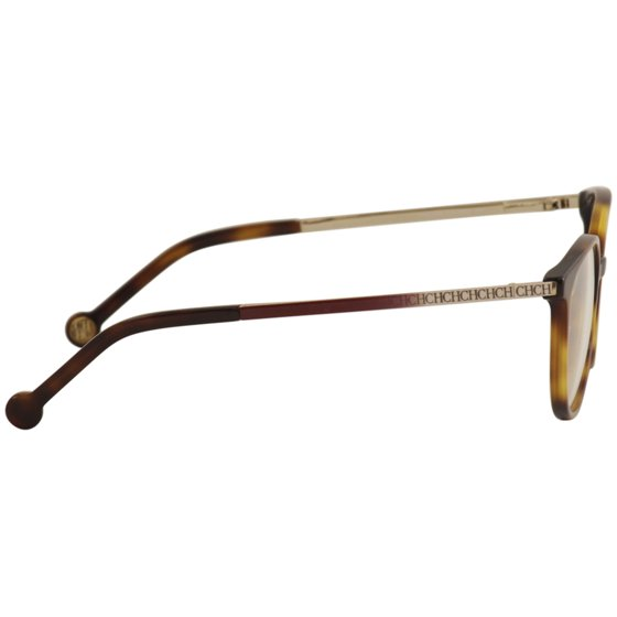 f2db11d6f3 CH Carolina Herrera Eyeglasses VHE759 VHE/759/K 0752 Tortoise Optical Frame  50mm - Walmart.com