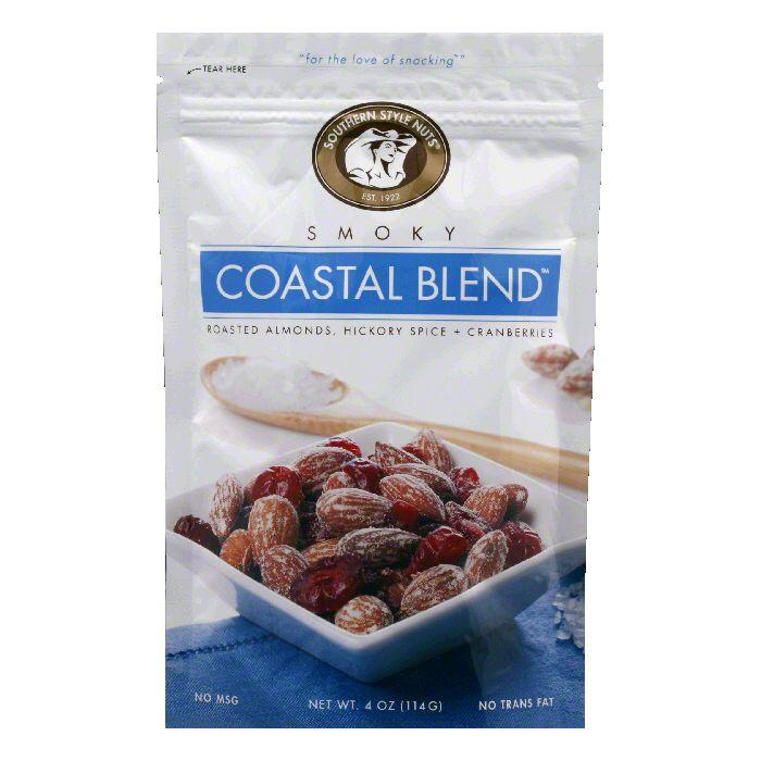 Southern Style Nuts Nut Coastal Blend, 4 OZ (Pack of 6)
