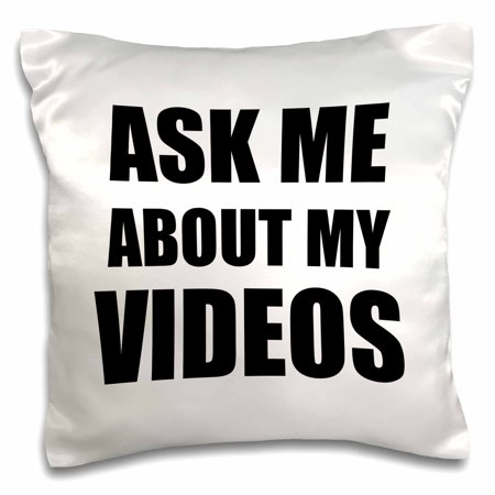 3drose ask me about my videos movie film maker vlogger advert