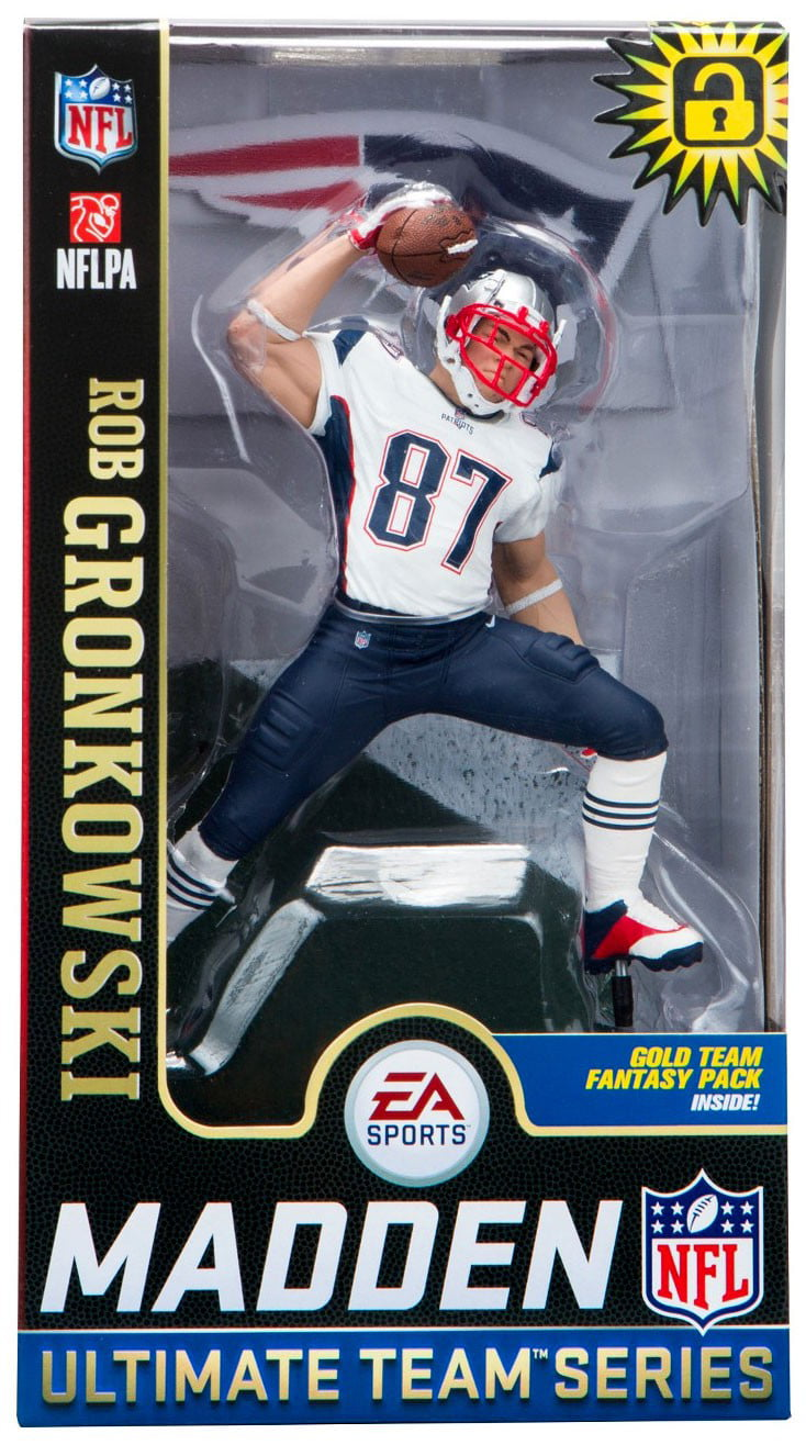 McFarlane NFL EA Sports Madden 19 Ultimate Team Series 2 Rob Gronkowski  Action Figure 0075d3aa2