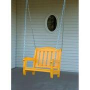 Prairie Leisure Single Person Porch Swing