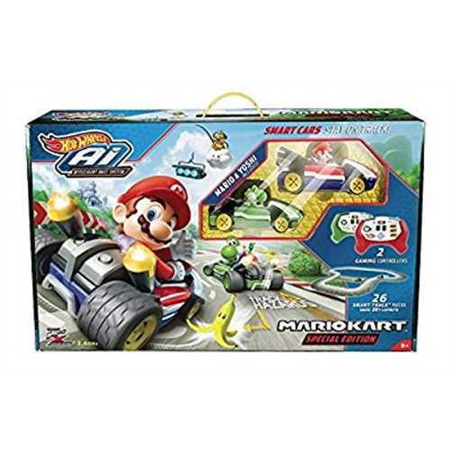 Mariokart Special Edition Hot Wheels Ai Intelligent Race System Starter Pack by