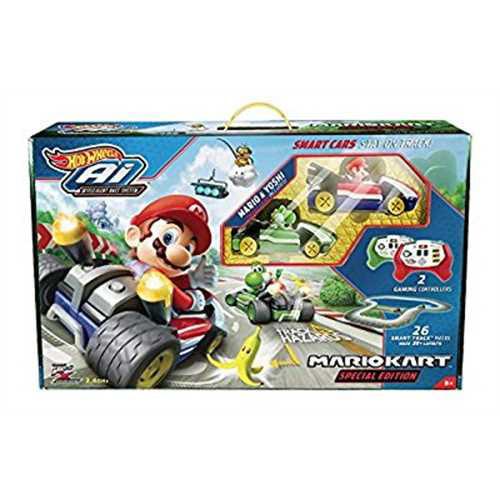 Mariokart Special Edition Hot Wheels Ai Intelligent Race System Starter Pack by Mattel