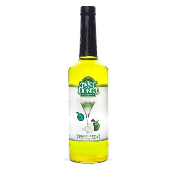 Taste of Florida Green Apple Real Juice Cocktail Mixer - 750 ml