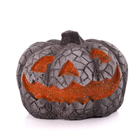 Veil Entertainment Glitter Halloween Pumpkin Faces 3.5