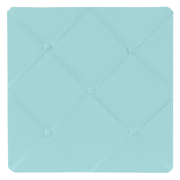 Royal Blue Star Handcrafted Fabric Notice Memory Memo Photo Cork Pin Board