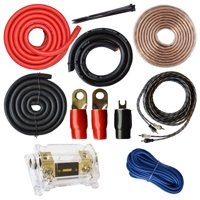 SoundBox K0, 0 Gauge Amplifier Install Kit Amp Wiring Installation Cables 6000W