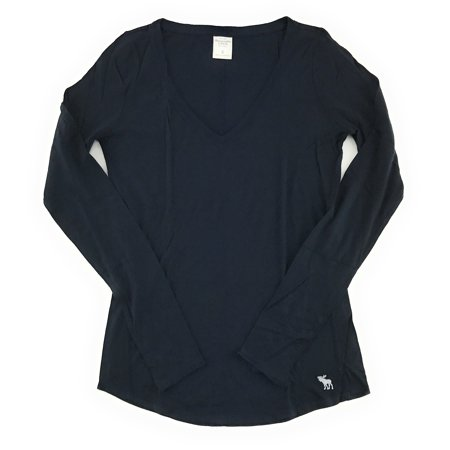 Abercrombie Skirt - Abercrombie and Fitch Women's Long Sleeve Classic V-Neck T-Shirt